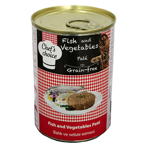 CHEF CHOİCE FİSH AND VEGATABLES 400 GR